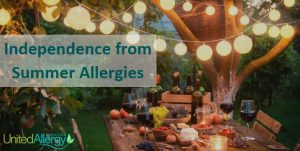 Tips for independence from summer allergy concerns